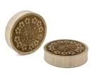 Elementals Organics ORG1097 Saba Wood Solid Plug - Price Per 1