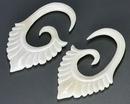 Elementals Organics ORG1129 QRS Bone Hanger Organic Body Jewelry - 1.5mm-8mm - Price Per 1