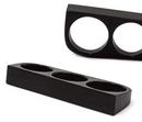 Elementals Organics ORG2036 Triple Finger Ring Solid Areng Black Wood