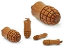 Elementals Organics ORG2040 GRENADE BOOM Saba Wood Plug - Price Per 1