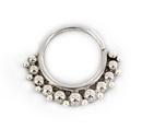 Elementals Organics ORG2100 18g Sterling Silver KWS 4 Septum or Earring Jewelry