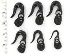 Elementals Organics ORG239 Stunning Owl Horn Hanger - Natural Organic Ear Hanger - Price Per 1
