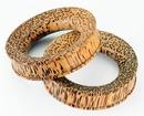 Elementals Organics ORG592 Coconut Wood Tunnel - Organic Body Jewelry 5mm up to 51mm - Price Per 1