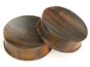 Elementals Organics ORG598 SONO Solid Wood Plug - Organic Body Jewelry 4mm up to 51mm - Price Per 1