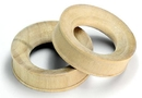 Elementals Organics ORG601 CROCODILE Wood Tunnel - Organic Body Jewelry 6mm up to 51mm - Price Per 1