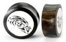 Elementals Organics ORG608 AQUARIUS Black Wood Organic Zodiac Ear Jewelry 12mm - 31mm - Price Per 1