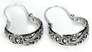 Elementals Organics ORG650-pair .925 Sterling Silver 16g Bali Drop Earrings - Price Per 2