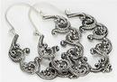 Elementals Organics ORG655-pair .925 Sterling Silver 16g NYX Drop Earrings - Price Per 2