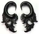 Elementals Organics ORG679 The ILK Wholesale Horn Hanger Organic Body Jewelry 12g - 00g - Price Per 1