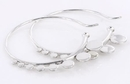 Elementals Organics ORG936-pair 18g - .925 Sterling Silver FARAH Earrings Hangers - Price Per 2