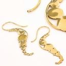 Elementals Organics ORG943-pair SEA HORSES 18g Bronze Earrings - Price Per 2