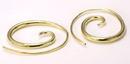 Elementals Organics ORG953-pair 18g-16g BRONZE SIMPLE Style Earrings - Price Per 2