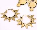 Elementals Organics ORG976-pair LETZ 18g Bronze Earrings - Price Per 2