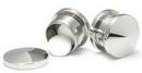 Painful Pleasures P036-pb Stash Threaded Plug Stainless Steel Earlet - Price Per 1