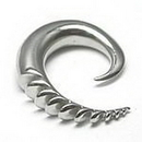 Painful Pleasures P214 12g up to 0g Vertebrae Claw Primitive Collection