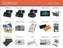 Limitless Print-035 Black Edge Specialty Business Cards - Quantity 500+