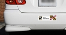 Limitless Print-053 Tattooed Pride State Bumper Stickers - Pick Your State - Quantity 50+