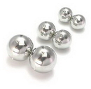 Painful Pleasures RES157 Double WELDED Steel Balls - Create your own Slave Rings