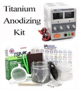 Painful Pleasures TAT-1096-kit Titanium Anodizing Kit for Jewelry, Dental, & Medical Supplies