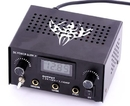 Precision TAT-574-D-015 Dual Tattoo Power Supply - Plug in 2 Machines, Liner and Shader