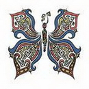"""Painful Pleasures TAT-937 BUTTERFLY Temporary Tattoos - 2""""x2"""""""