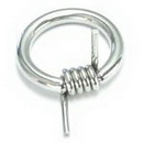 Painful Pleasures UR025 10g Barbed Captive Ring