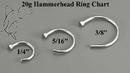Painful Pleasures UR192 20g Stainless Steel Nose Hoop