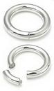 Painful Pleasures UR212-8g-seg 8g Stainless Steel Segment Ring