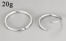 Painful Pleasures UR277 20g Seamless Annealed Stainless Steel Ring