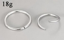 Painful Pleasures UR278 18g Seamless Annealed Stainless Steel Ring