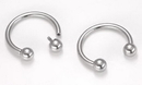Painful Pleasures UR286 16g Steel Circular Barbell Internally Threaded