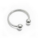 Painful Pleasures UR310 16g Externally Threaded Stainless Steel Circular Barbell