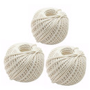 Cooking Twine 1.5mm Kitchen Cotton Rope Thread Butcher's Twine for Trussing and Tying Poultry Home Decorating Totally 600 Yards White