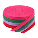 Cotton Webbing Yoga Straps 50 Yards for Clothing Belt Luggage Bag Handle Tape Outdoor Application Sewing Material