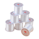 Transparent Fishing Line 0.3 mm Crystal Line Nylon Wire 76.5 Yards Non-stretch Beading Thread Sewing Handmade String