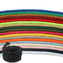 5mm 328ft Cotton Rope Cord Piping Core-spun Braided Round DIY Woven ply 16 Cord for Clothes Hat Shoes