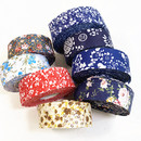 54 Yards Cotton Fabric Strips Quilting Fabric Bias Tape Edge Strip Printed Flower Patterns for DIY Crafts