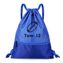Custom Drawstring Strings Bags with Pockets Personalized Sports Backpack Bag Waterproof Sack pack Gymsack