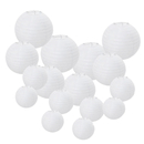 Aspire White Paper Lanterns Round hanging Lantern Party Decorations For Wedding Birthday Parties