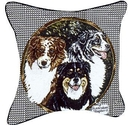 Simply Home Australian Shepherd Pillow (P30-AUS)
