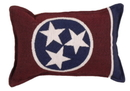 Simply Home Flag Of Tennessee Small Tapestry Pillow