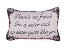 Simply Home No Friend Like A Sister Pillow (P80-SIS)