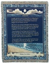 Simply Home Footprints Tapestry Throw (RTP007484)