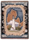 Simply Home Fort Gratiot, Mi Lighthouse Tapestry Throw (RTP023781)