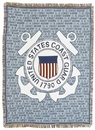 Simply Home Coast Guard Full Size Tapestry Throw (RTP050749)