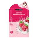 Feeling Beautiful 48439-DOM-OS FB Yogurt 2-Step Peel Pad + Sheet Mask Raspberry, 1 - Peel Pad 0.27 fl. oz. / 8 mL, 1 - Sheet Mask 0.84 fl. oz. / 25 mL oz.