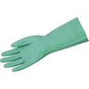 MCR Safety Nitri-Chem Unsupported Nitrile Gloves, 18 mil, 13
