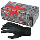 MCR Safety NitriShield Grippaz Disposable Nitrile Gloves, Powder-Free, 6 mil