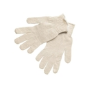 MCR Safety Economy Weight String Knit Gloves, 100% Cotton, Large
