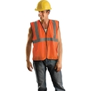 OccuNomix Class 2 Solid Mesh Standard Vests